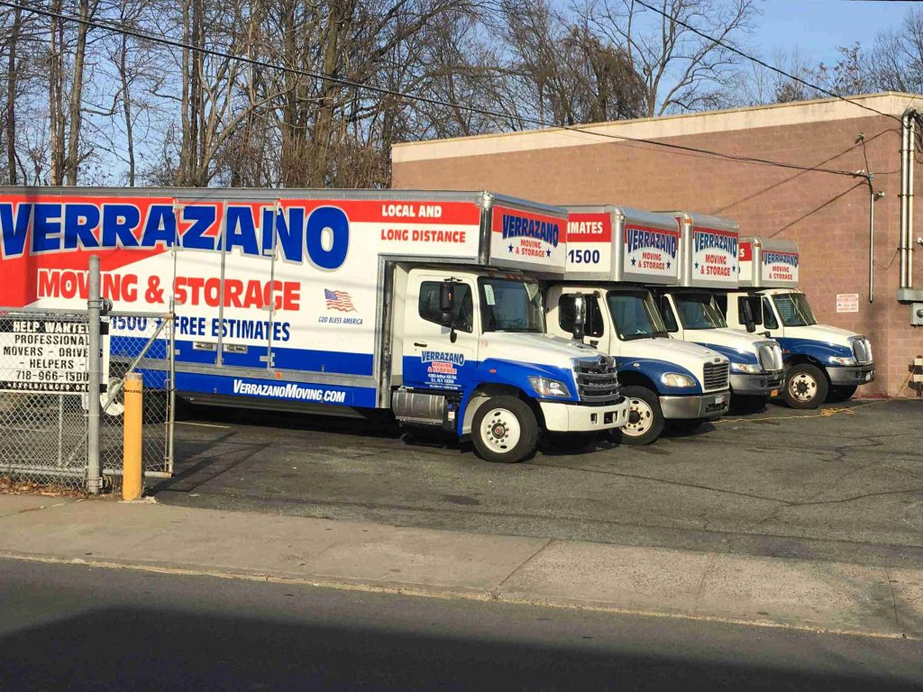 Verrazano Moving and Storage - moving trucks