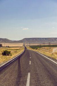 Long distance road